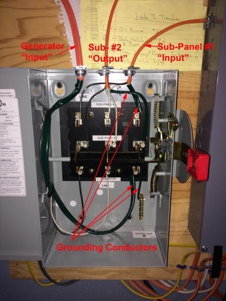 120v Transfer Switch Wiring