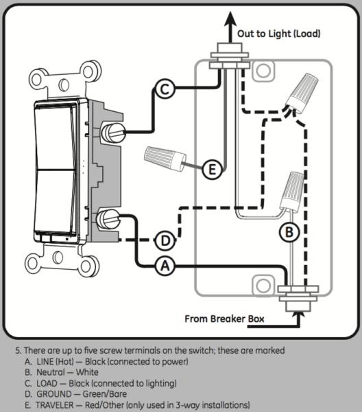 120v Wiring Switch