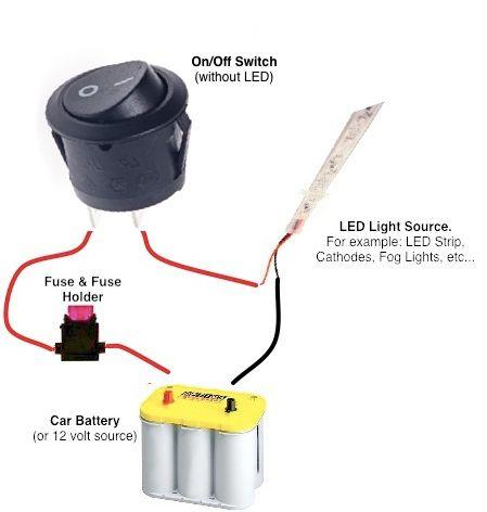 12 Volt Switch Wiring Diagram