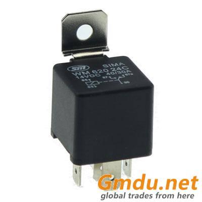 12v 24 Volt 40a 4 Pin 5 Pin Mini General Relay For Automotive