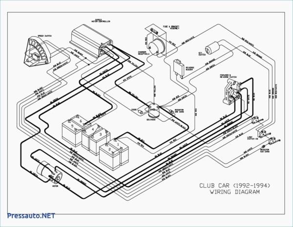 1993 Club Car Ds Wiring Diagram