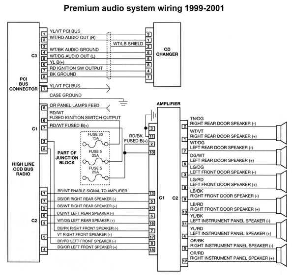 Infinity Radio Wiring Diagram