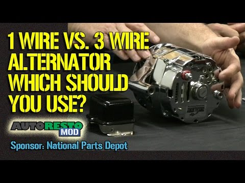 1 Wire Vs 3 Wire Alternator Plus Other Tips For Classic Cars