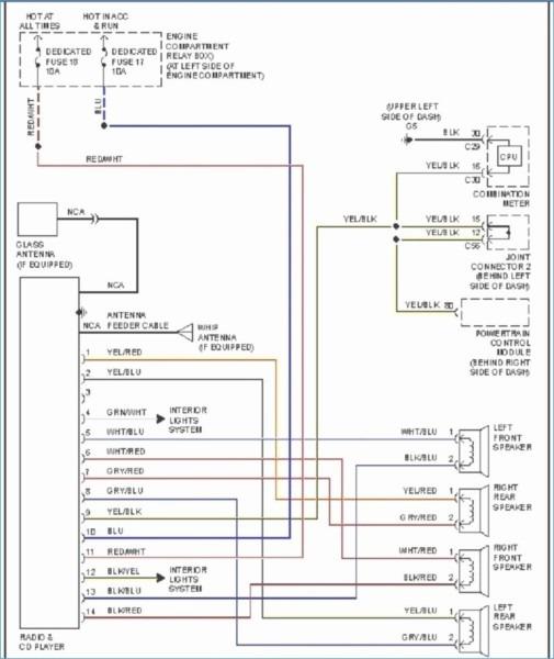 2001 mitsubishi mirage radio wiring diagram2003 Mitsubishi Mirage Wiring #7