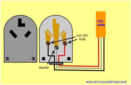220 Plug Hook Diagram Using 4 Wires