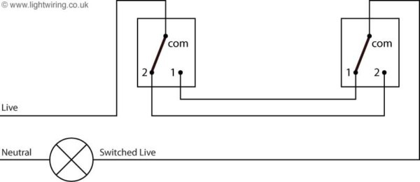 2 Switch Circuit Diagram