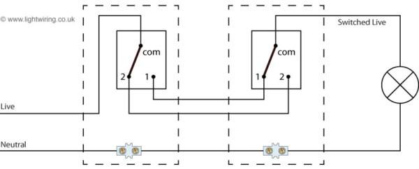 2 Way Light Wiring Diagram