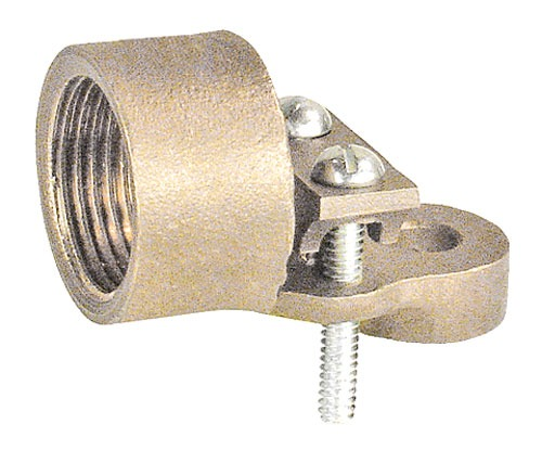 3 4 In  Threaded Conduit Grounding Hub