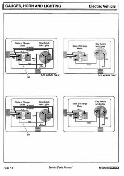 3 Way Key Switch