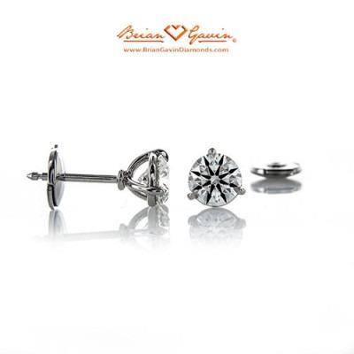 3 Prong Martini Vs 4 Prong Basket Style Diamond Stud Earrings