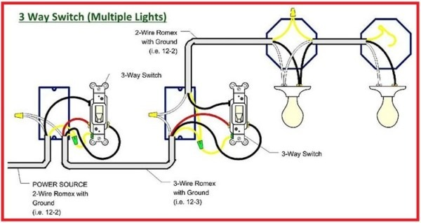 3 Way Switch (multiple Lights)