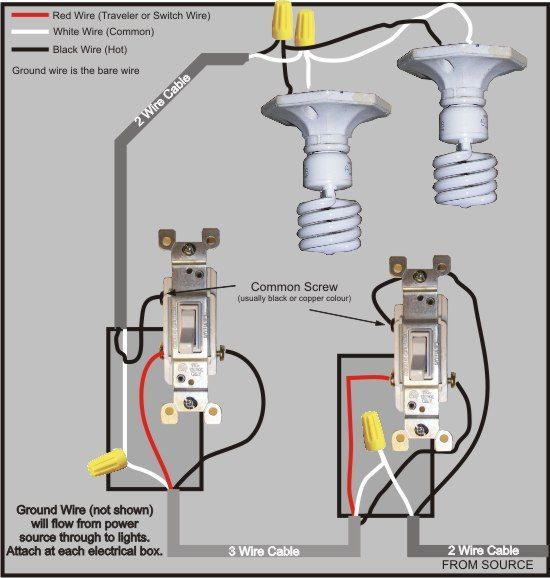3 Way Switch Wiring Diagram In 2018