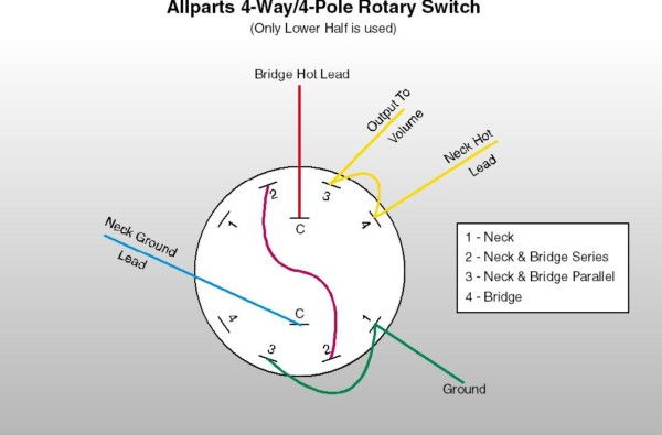 4 Pole Switch Wiring