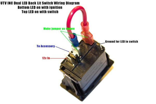 4 Prong Rocker Switch Wiring Diagram For