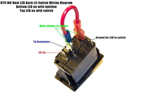 4 Prong Rocker Switch Diagram