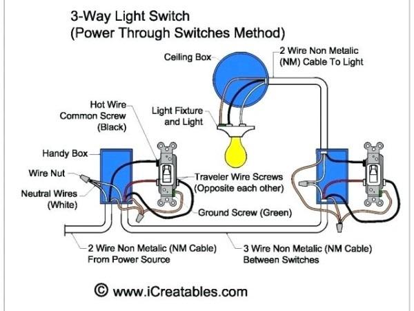 4 Way Light Switch Wiring 3 Way Dimmer Switch Wiring Diagram