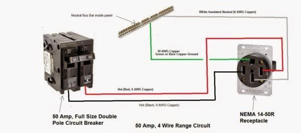 4 Wire 220 Dryer Wiring Diagram