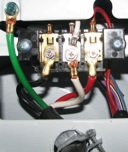4 Wire Dryer Plug Wiring