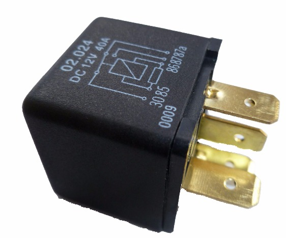5 Pin Automotive Type 12volt 30 40a Resistor Protected Relay Alt