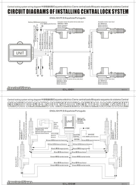 5_wire_window_switch_diagram_4  Wire Central Locking Actuator Wiring Diagram on