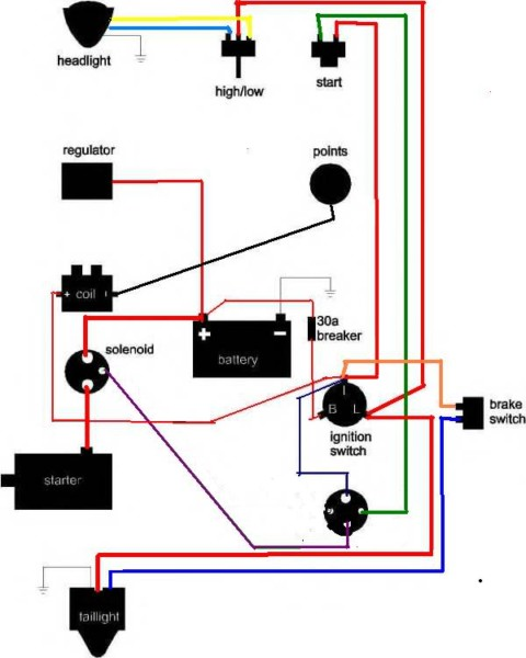 On Off Switch Wiring Diagram Harley Everything Wiring Diagram