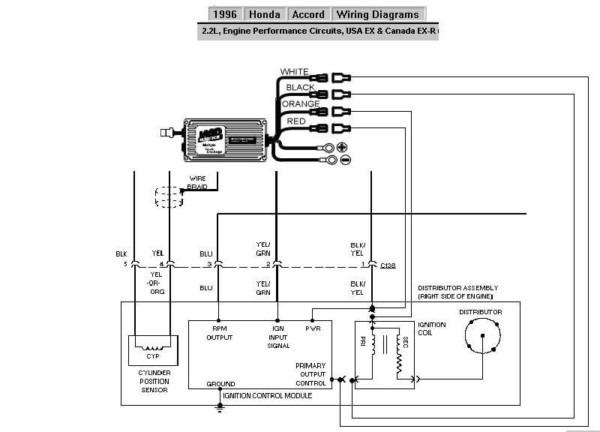 1996 Honda Accord Wiring Diagram