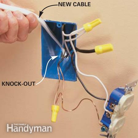 Add An Electrical Outlet