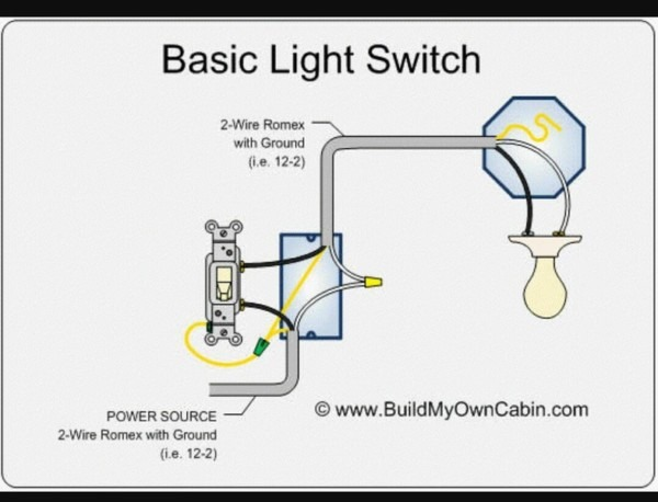 Adding A New Light And Switch To Existing Circuit