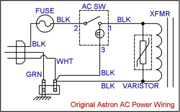 Ac Power Switch Wiring