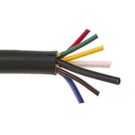 Amazon Com  20 Feet 7 Wire Trailer Cable 2