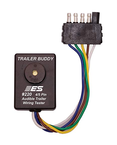 5 Pin Flat Trailer Plug