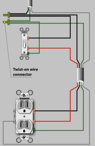An Electrician Explains How To Wire A Switched (half