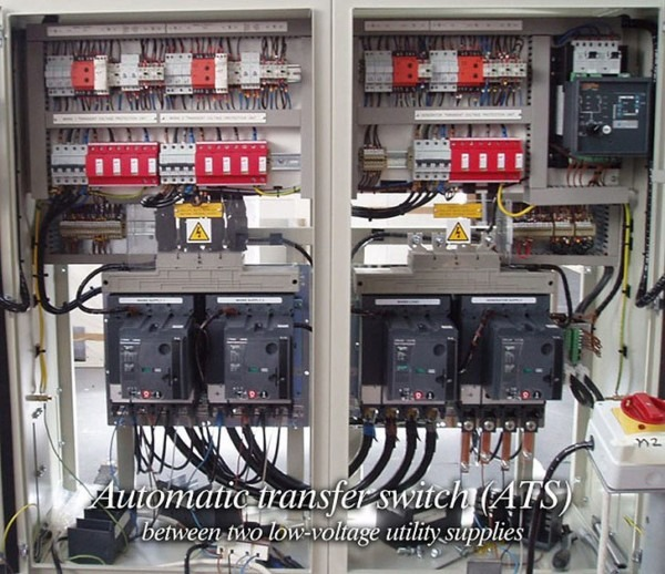 Automatic Transfer Switch (ats) Between Two Low