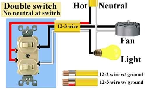 Dual Light Switch Wiring Diagram