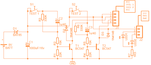 Bistable Relay Tester