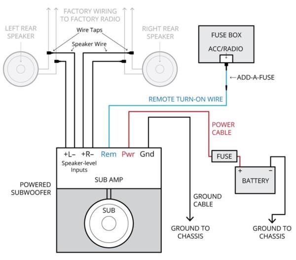 Bmw Factory Alpine Amplifier Wiring Diagram