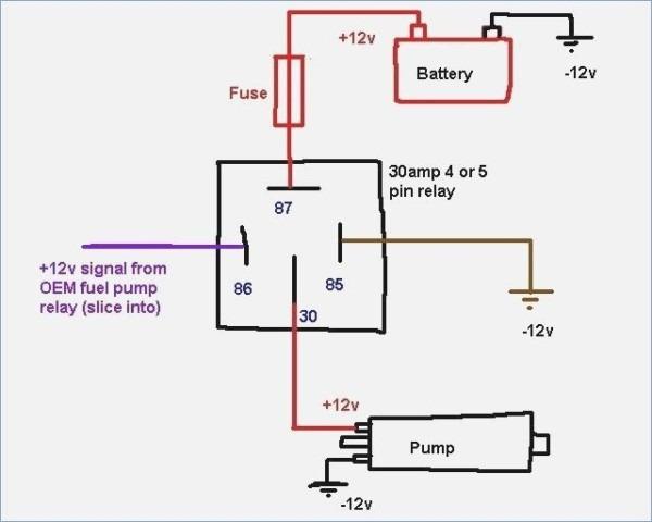 Bosch Relay 12v 30a Wiring Diagram – Amalgamagency Co