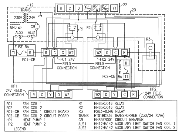 carrier heat pump wiring