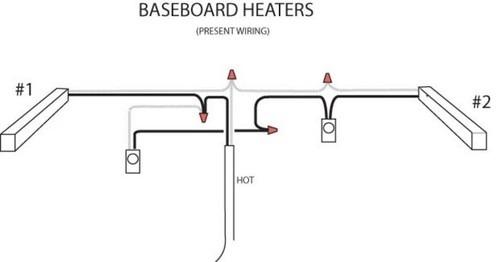 Ccfbcfbdbace Baseboard Heater Wiring