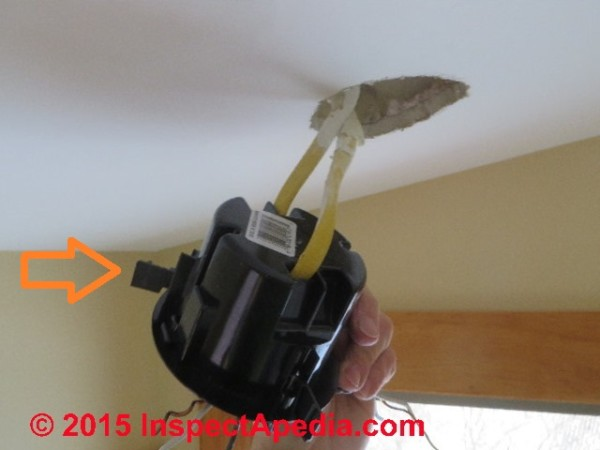 Ceiling Light Fixture Installation & Wiring