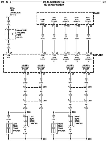 Jeep Liberty Stereo Wiring Diagram from www.chanish.org