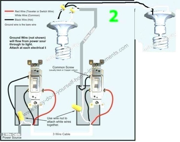 Common On A Light Switch Three Way Lamp Switch 3 Way Lamp Not