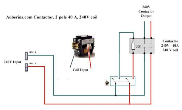 2 Pole Contactor Wiring Diagram