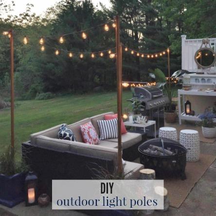 Diy Outdoor Light Poles