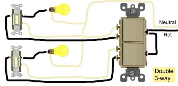Double Pole Switch Wiring