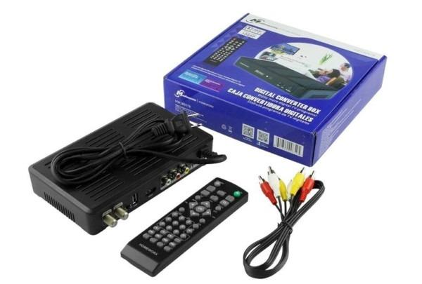 Dtv Converter, Analog Tv, Vcr, Dvd Recorder Connection
