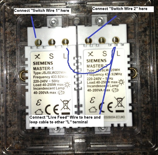 Double Dimmer Switch Wiring