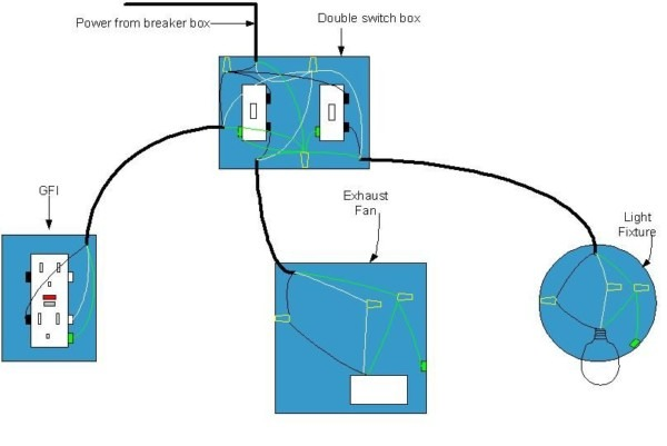 Electrical Diagram For Bathroom