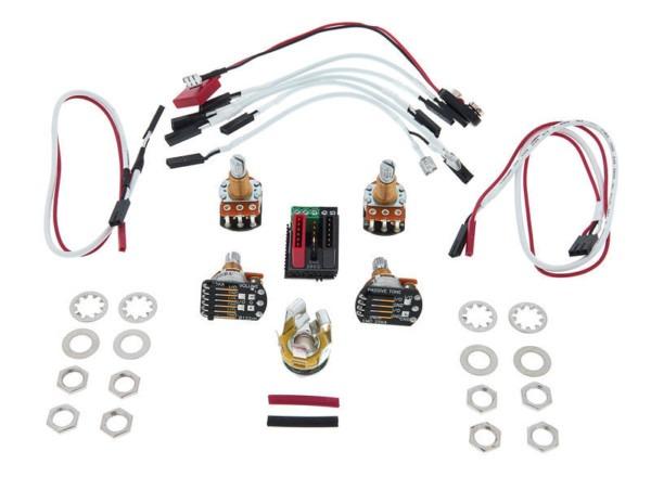 Emg 1 Or 2 Pickups Wiring Kit – Thomann Uk