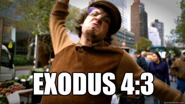 Exodus 4 3